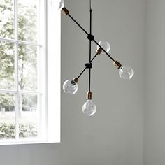 The beautiful Molecular Pendant Light from House Doctor is an almost sculptural lamp, a feature pendant that is a practical source of light. The lamp Pendant Light, Cosy Decor, Lamp, Ceiling Lights, Lights, Ceiling Pendant, Ceiling Lamp, Ceiling Light Design, House Doctor