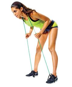 Resistance Band Warm-up Stretching: Resistance Band Static Good Morning