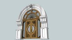 classic entery door - 3D Warehouse