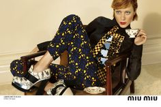 chloe sevigny by mert and marcus for miu miu f/w 12.13