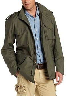 Olive Field Jacket by Alpha Industries. Buy for $122 from Amazon.com