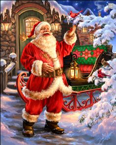 Joyful St. Nick See more beautiful christmas pics www.fabuloussavers.com/xmaseleven.shtml Thank for viewing!