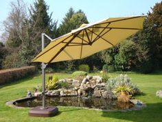 View the high quality Cantilever Parasol Roma Diameter with tilt function now online with an easy-to-use website. Cantilever Parasol, Luxury Garden Furniture, Patio, Outdoor Decor, Home Decor, Rome, Decoration Home, Room Decor, Home Interior Design