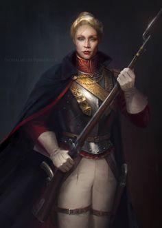 SW Regency AU Captain Phasma/Previously on Regency AU: Finn and Poe | Kylo | Rey | Hux (TheRealMcgee Art)