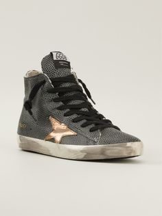 Golden Goose Deluxe Brand Lizard Skin Effect Sneakers - Petra Teufel - Farfetch.com