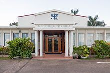 Pacific Theological College - Wikipedia Conference Facilities, Capacity Building, Christian Church, South Pacific, College, Outdoor Decor, University, Community College