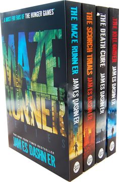 James Dashner The Maze Runner Series\\\\\\\ ^This is beautiful!