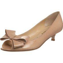 Kitten Heel Peep Toe Shoes
