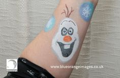 Blue Orange Images facepainting Watford, Frozen character