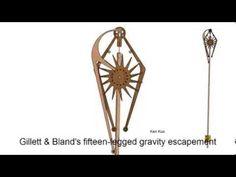 Gillett & Bland's Fifteen-Legged Gravity Escapement - YouTube
