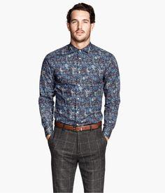 H&M - Shirt in Liberty Art Fabric