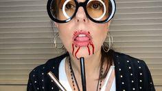 Blood lips: evite esse efeito usando lapiseira labial transparente.