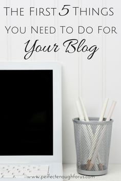 Your blog is set up,