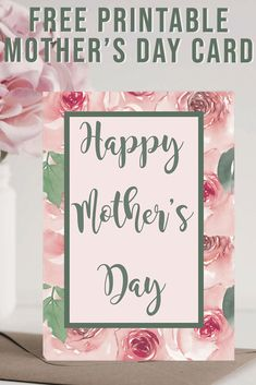 Download these FREE Printable Mother's Day cards from Everyday Party Magazine #MothersDay #PrintableCards