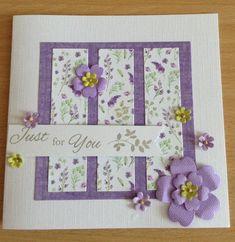 Challenge Group, Ultra Violet, Flora, January, Tea, Facebook, Cards, Decor, Decoration