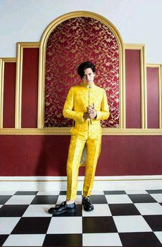Yellow man