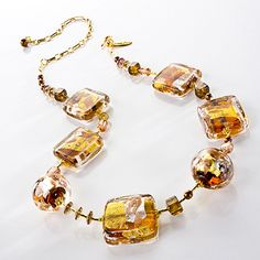 Amber Lava Extrav. Necklace – Marco Polo Designs Online Store
