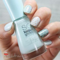 Stamping nail art | MoYou London The Pro Collection 01