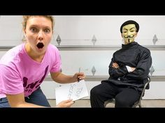 GRACE SHARER INTERVIEWS THE GAME MASTER!! (Top Secret Mystery Clues Solved) - YouTube Saw The Game, Rebecca Zamolo, Secret Meeting, Lie Detector, Share The Love, Interview Questions, Serious Injury, The Secret, Youtubers
