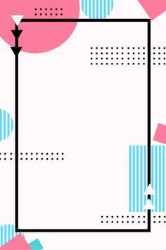 Creative minimalist geometry Memphis