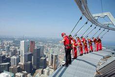 Wonga Q&A: Would you do the CN Tower edge walk?