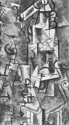 """Pablo Picasso - """"Seated Woman"""", 1911"""