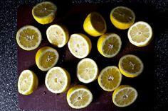 Lemons! (From smitten kitchen's vermontucky lemonade)