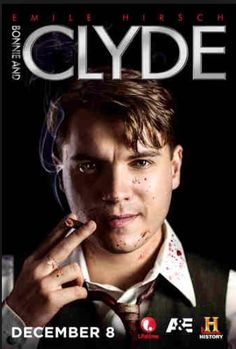"""Emile Hirsch as """"Clyde"""" in """"Bonnie & Clyde"""" a star-studded miniseries for HISTORY, LIFETIME and A&E networks. Even the photo shoot was EPIC. Bonnie And Clyde 2013, Bonnie And Clyde Pictures, Holliday Grainger, Bonnie Parker, Drama Tv Series, Romance, Lifetime Movies, Get Shot, Tanks"""