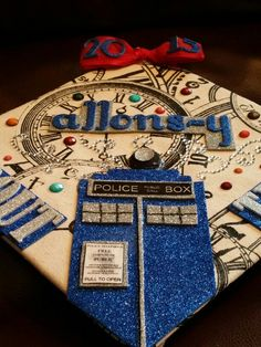 My Doctor Who inspired graduation Cap