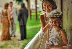 #hdr - Flower Girls at the Wedding