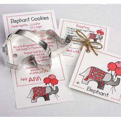 - Cookie Cutter Elephant Tin Ann Clark