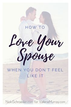 How do you love your spouse on those hard, crazy overwhelming days when you don't feel like it? In the little ways that matter. Intimacy In Marriage, Biblical Marriage, Marriage Relationship, Happy Marriage, Marriage Advice, Marriage Help, Restore Marriage, Fierce Marriage, Biblical Womanhood