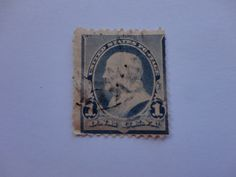 One Cent Historical USA Postage Stamp