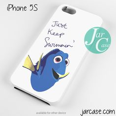 Finding dory just keep swimming quote Phone case for iPhone 4/4s/5/5c/5s/6/6 plus