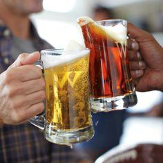 Monogrammed Beer Mug, Set of 4   Williams-Sonoma