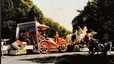 Krishna & Arjuna's Chariot  Fibreglass & acrylic paint 1984