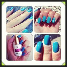 Gel polish - turquoise
