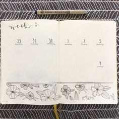 Next week ready for texts! The flowers are once again inspired by @feebujo  #bulletjournal #bulletjournaling #bulletjournalideas #bujo #bujoinspire #bujolove #weeklylayout #showmeyourbujo #bulletjournalfinland #bujofinland #kalenterimania