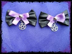 black pearl gothic jewelry and accessories