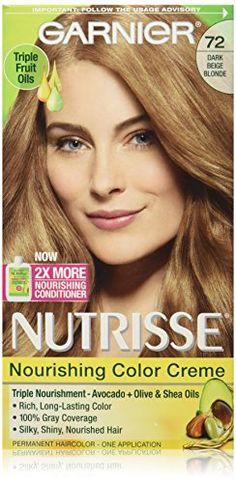 Garnier Nutrisse Nourishing Color Creme 72 Dark Beige Blonde *** Additional details ...  sc 1 st  Pinterest & Garnier Nutrisse Nourishing Multi-Lights Highlighting Kit Hair ...