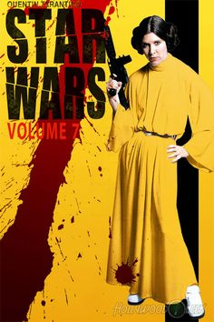 """Posters for """"Star Wars VII"""" imagined as other movies [15 pictures]"""