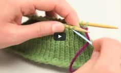 the Kitchener stitch | the knitting space