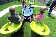 New playground intended to help autistic children build social skills