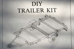 Tandem Axle Utility Trailer Plans arc welding