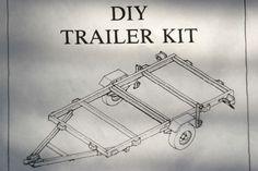 Tandem Axle Utility Trailer Plans arc welding