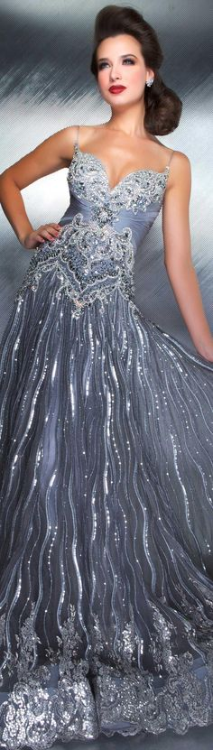 MacDuggal..luv this gown in this color as well as the pink  jjdress.net
