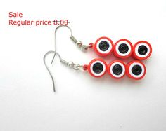 Paper Quilled Earrings // Paper Quilling Quilled by OnACurl