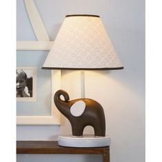 Found it at AllModern - Blue Elephant Table Lamp Elephant Lamp, Elephant Table, Childrens Lamps, Contemporary Table Lamps, All Modern, Home Improvement, Lights, Interior Design, Nursery Ideas