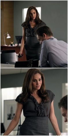 Suits' Rachel Zane's amazing way of dressing #pencilskirt #officestyle