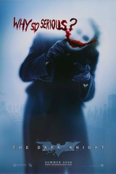 The Dark Knight. Poster design by BLT & Associates
